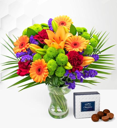 Joyful - Free Chocs - Flower Delivery - Birthday Flowers - Next Day Flowers - Flowers - Next Day Flower Delivery