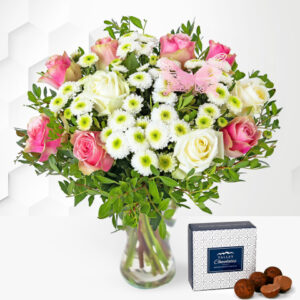 Rose Medley - Flower Delivery - Next Day Flowers - Next Day Flower Delivery - Birthday Flowers - Flowers By Post