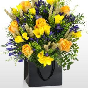 Wheatfields by Van Gogh - National Gallery Flowers - National Gallery Bouquets - Luxury Bouquets - Luxury Flowers